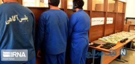 سارقان بانک ملی زاهدان دستگیر شدند