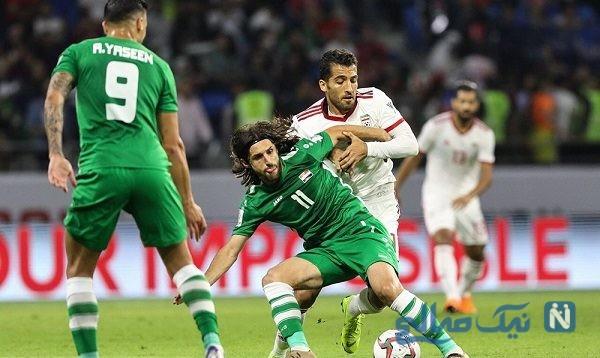 بازی تیم ملی فوتبال ایران و عراق