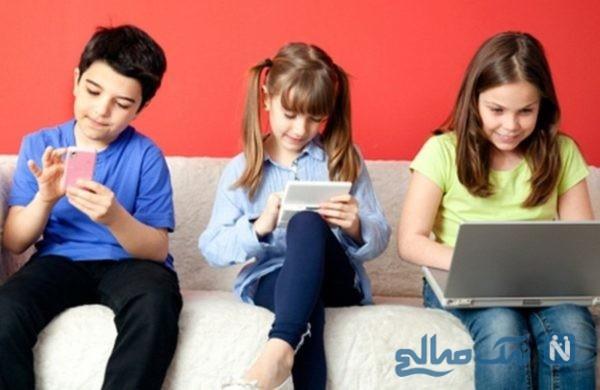 عوارض جبران ناپذیر بازی با تبلت و تماشای تلویزیون بر ذهن کودکان