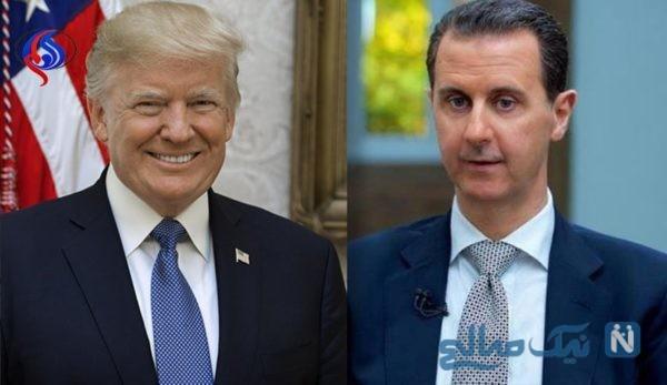 ترامپ بهترین رئیس جمهور آمریکا از دیدگاه بشار اسد
