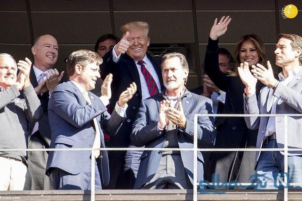 ترامپ وهمسرش