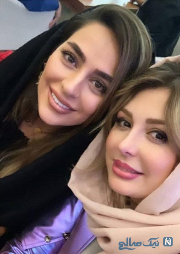 جشن تولد هادی کاظمی با حضور نیوشا ضیغمی و همسرش