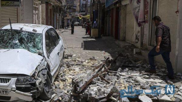 زمین لرزه در خوزستان