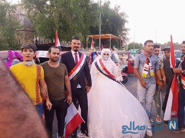 تظاهرات میدان التحریر بغداد