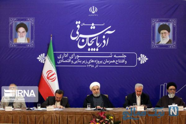 سفر روحانی به آذربایجان شرقی