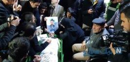 مراسم وداع مردم تهران با پیکر شهدای مدافع امنیت