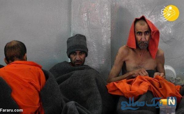 داعشی های زندانی در سوریه را از فاصله نزدیک ببینید