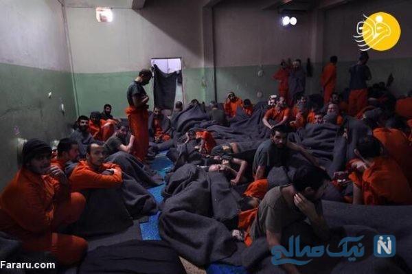داعشی های زندانی