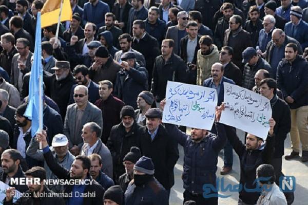 راهپیمایی علیه اغتشاشگران