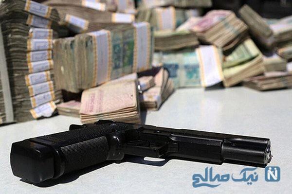 سرقت مسلحانه از بانک ملی