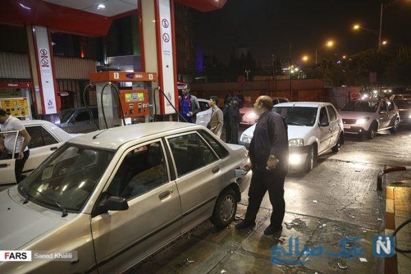 سهمیه بندی بنزین