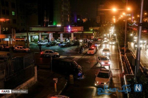 شب کوتاه اما صف طولانی در شب سهمیه بندی بنزین ۹۸