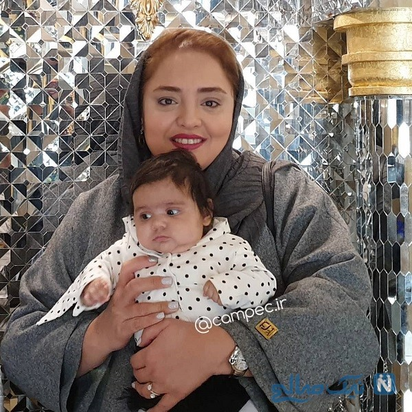 ظاهر متفاوت نرگس محمدی