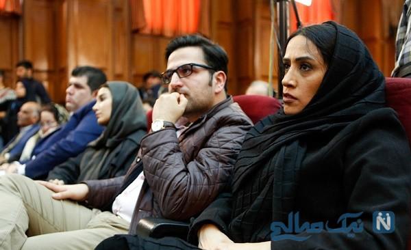 دختر و داماد نجفی در دادگاه قتل میترا استاد