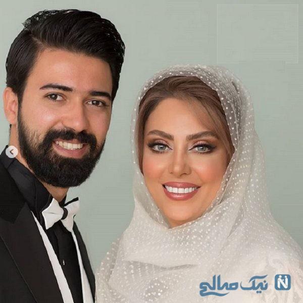عکس عروسی نیلوفر شهیدی