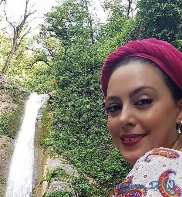عکس عروسی نیلوفر شهیدی که در اینستاگرامش منتشر کرد