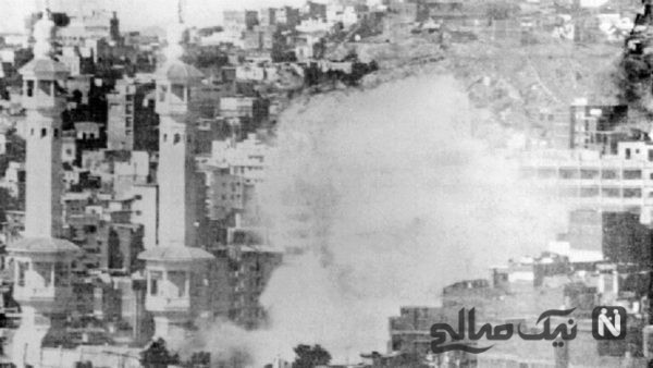 نخستین فیلم تاریخی از حمله مسلحانه به خانه خدا منتشر شد