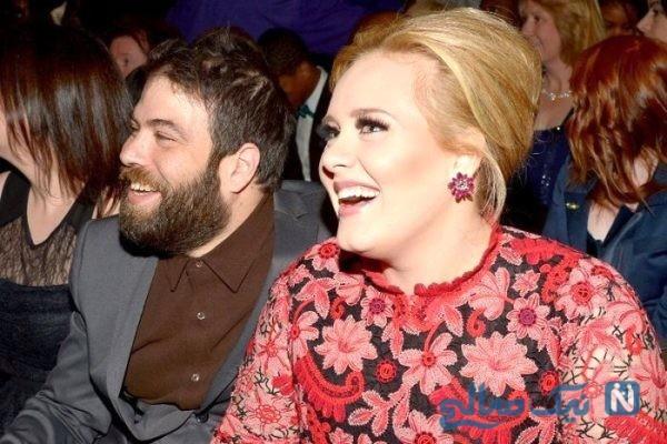 انتقام لاغری ادل خواننده معروف بعد از جدایی از همسرش