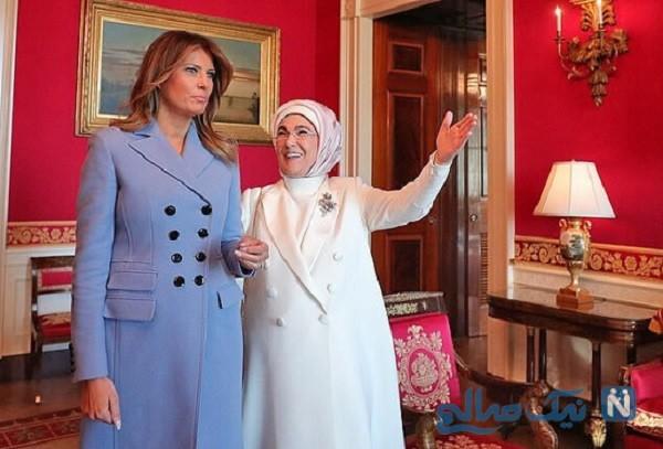 لباس گران قیمت ملانیا ترامپ