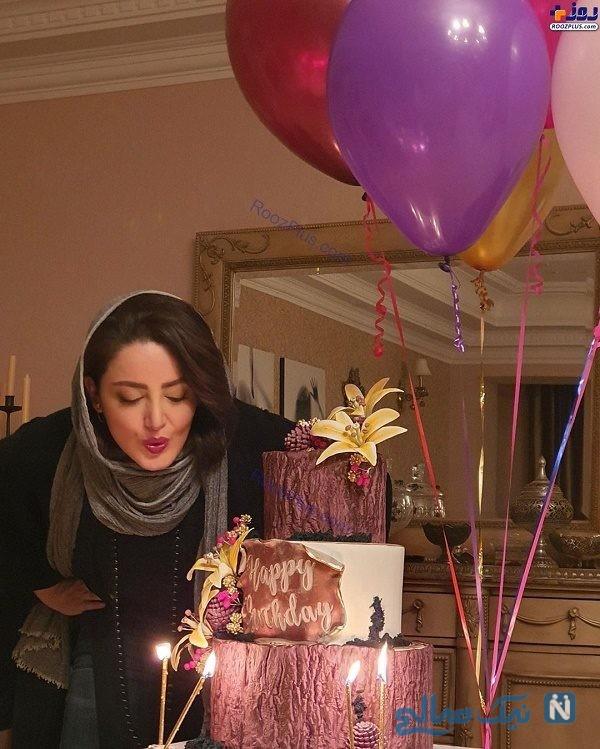 کیک تولد شیلا خداداد