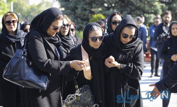 مراسم تشییع مجید اوجی با حضور هنرمندان برگزار شد