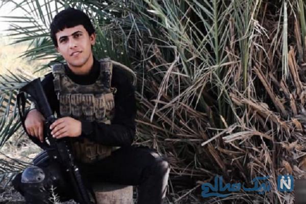 نوجوان شهید مدافع حرم