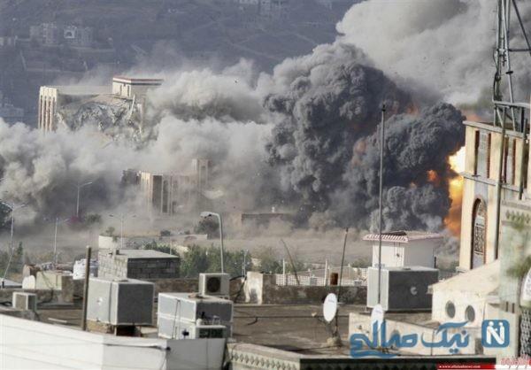 تصویر دلخراش کوچکترین قربانی حملات به یمن