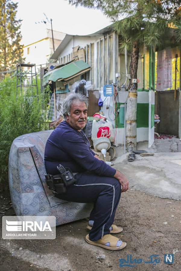 نگهبانان یکی از محلات مرفه نشین تهران