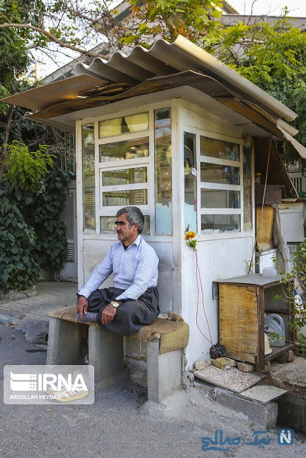 محلات مرفه نشین تهران