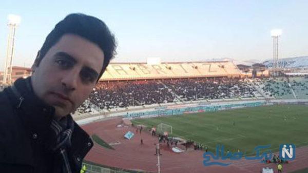 گزارشگر بازی استقلال تراکتور و واکنش خیابانی و علیفر