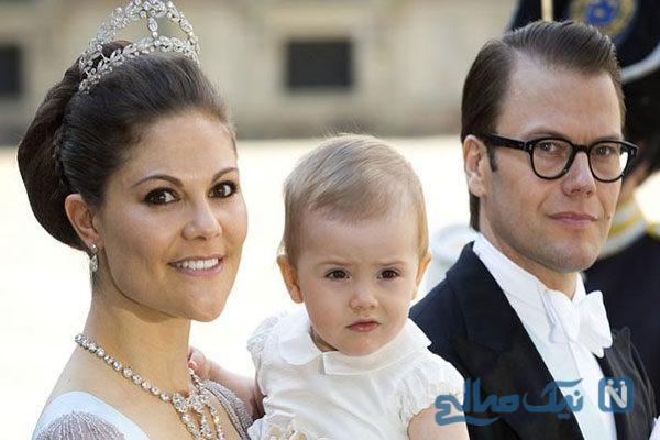 جنجال حجاب شاهزاده ویکتوریا ولیعهد کشور سوئد