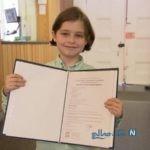 پسر اعجوبه ۹ ساله جوانترین فارغ التحصیل دانشگاهی جهان