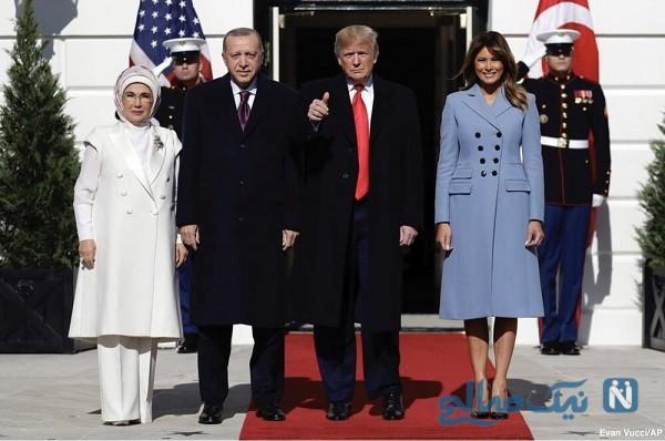 پوشش همسر اردوغان