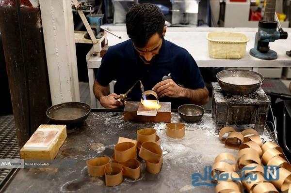 کارگاه تولید طلا
