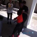 کتک زدن وحشیانه کودک با کمربند توسط مادرش