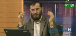 سوتی عجیب مجری شبکه وهابی کلمه روی آنتن زنده
