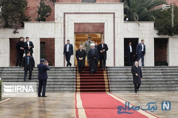 همراهان رئیس جمهور