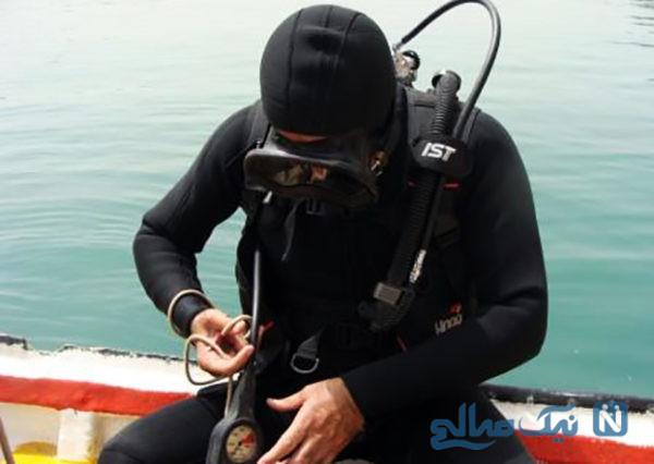 ماجرای بازداشت غواص معروف به جرم کشف اجساد معترضان بنزینی