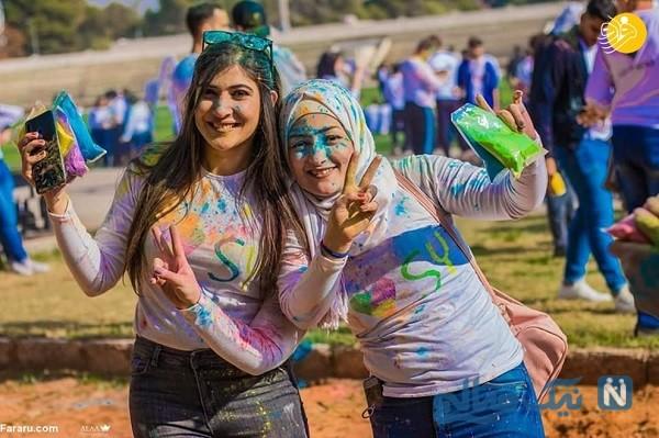 جشن رنگ در سوریه