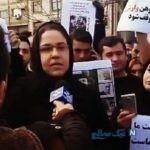 تجمع مردم گیلان برای اعتراض به سریال وارش در مقابل صدا و سیما
