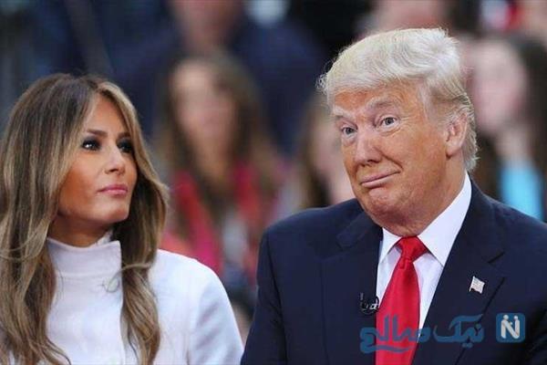 تصاویر برهنه همسر ترامپ