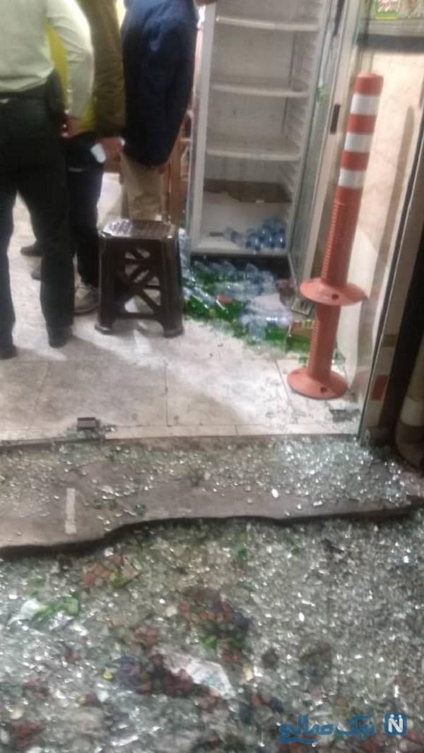 تیراندازی در خیابان خاتم الانبیا