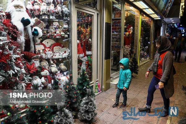 کریسمس در تهران