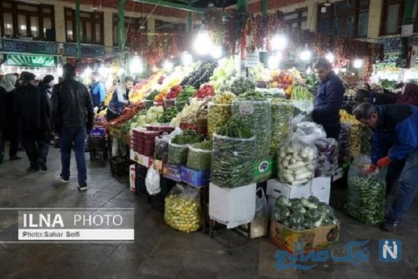 حال و هوای بازار تجریش تهران و خرید شب یلدا