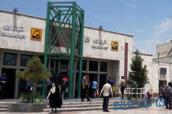 خودکشی دو دختر در مترو شهرری حادثه ایی دلخراش + فیلم