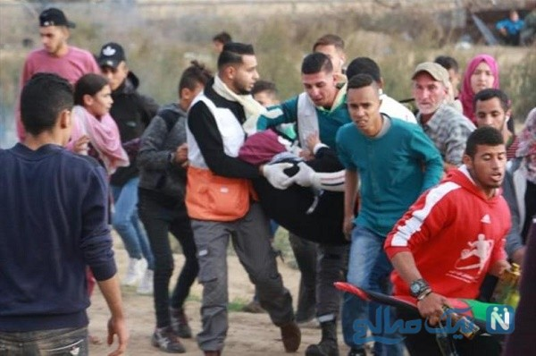 درآوردن چشم دختر معروف فلسطینی توسط سرباز صهیونیست