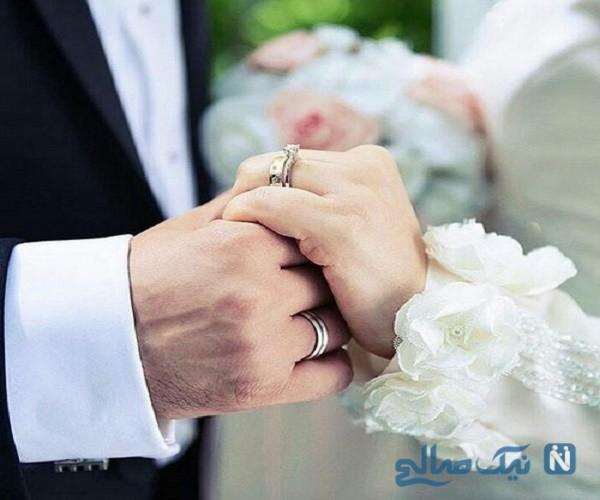 راهکار عجیب و باورنکردنی عروس و داماد برای دیده شدن!