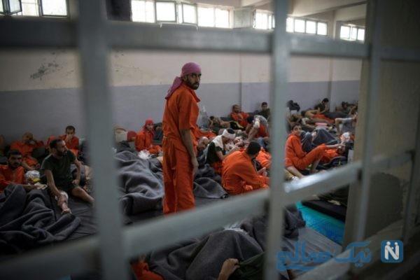 زندان داعشی ها