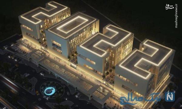 ساختمان زیبای جام جهانی ۲۰۲۲ قطر افتتاح شد