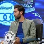 سوتی امیرحسین صادقی در برنامه زنده تلویزیونی